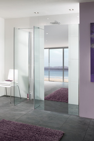 Lakes Mirror Collection Palma Shower Screen