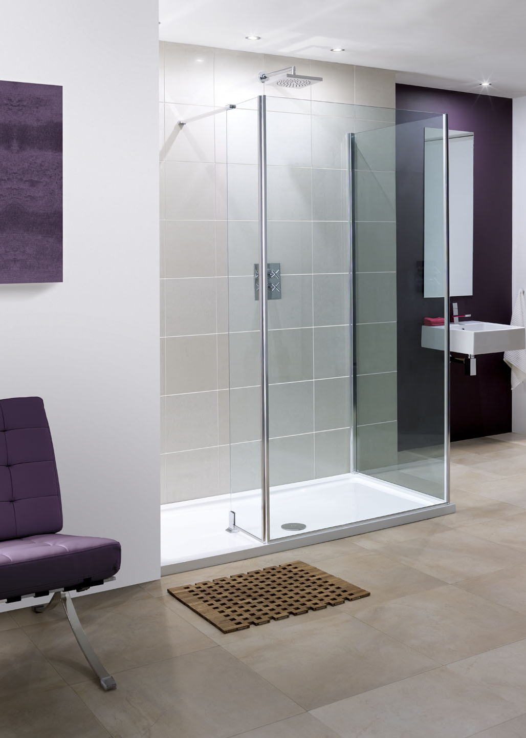 Lakes Coastline Collection Andora Shower Screen