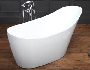 Waters Baths i-Line Collection Wave Freestanding Bath