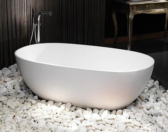 Waters Cloud Bath Elements Collection Stone