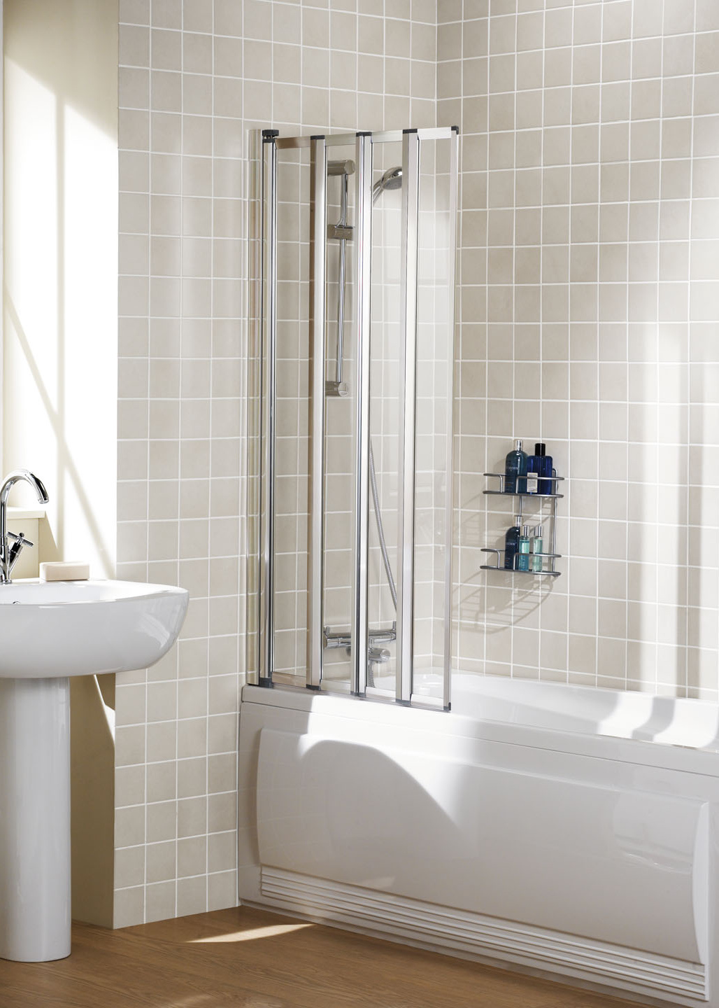 Lakes Classic Framed Bath Screen