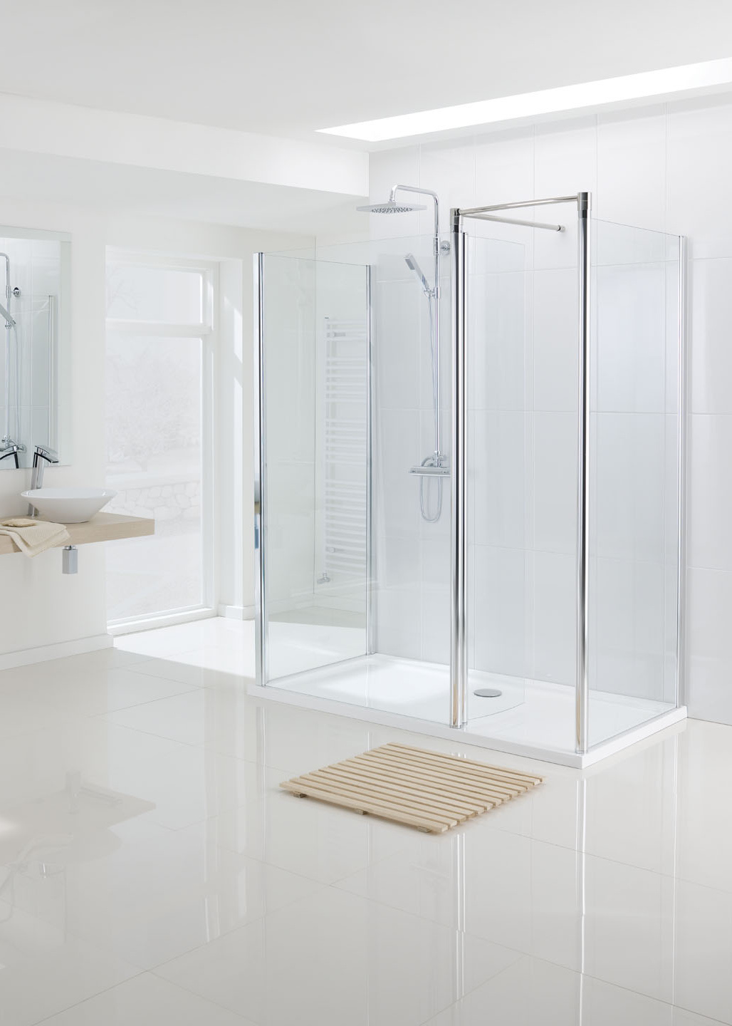 Lakes Classic Walk In Shower Enclosure