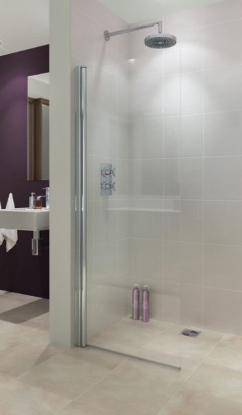Lakes Alassio Hinged Shower Screen