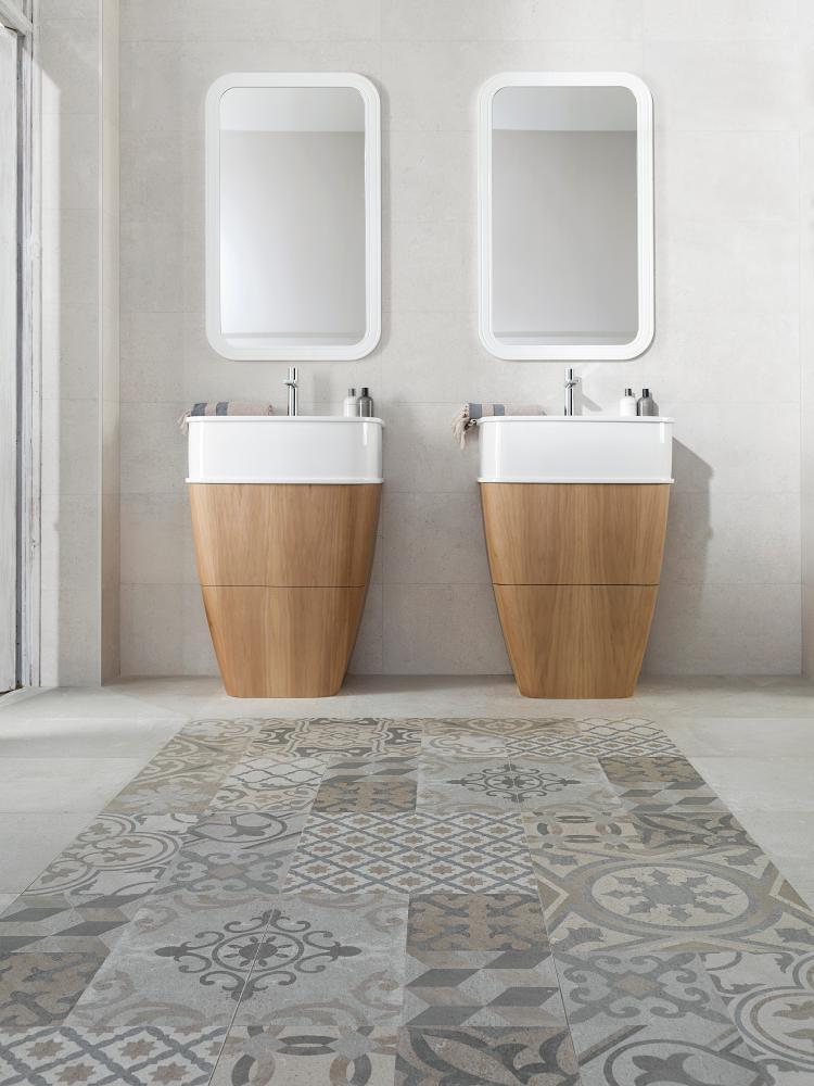 Porcelanosa dover antique 59 6 x 59 6 cm maison for Porcelanosa bathrooms prices
