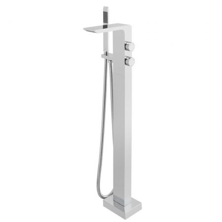 OMI-133-C-P Vado Omika Floor Standing Bath Shower Mixer