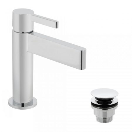 EDI-100-CC Vado Edit Single Lever Basin Mixer With Universal Waste