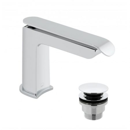 KOV-100-CC Vado Kovera Basin Mixer with Universal Basin Waste