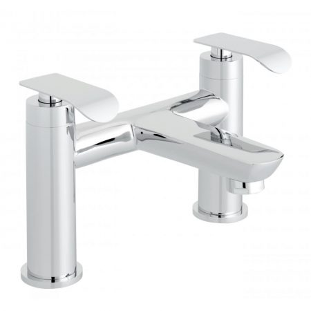 KOV-137-CP Vado Kovera 2 Hole Bath Filler Deck Mounted