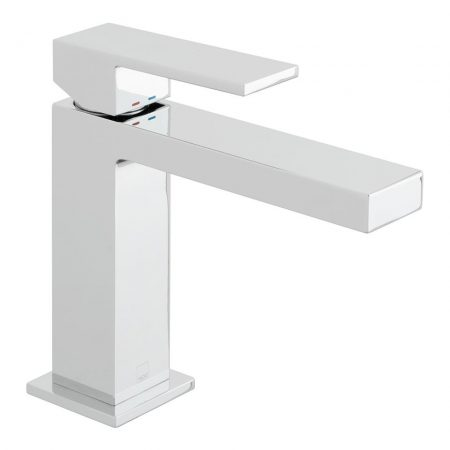 NOT-200-SB-CP Vado Notion Slimline Deck Mounted Single Lever Basin Mixer