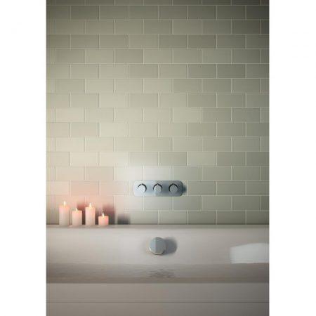 WG-81389_5592 Vado Kovera Bath Filler Waste With Clic Clac Operation 3